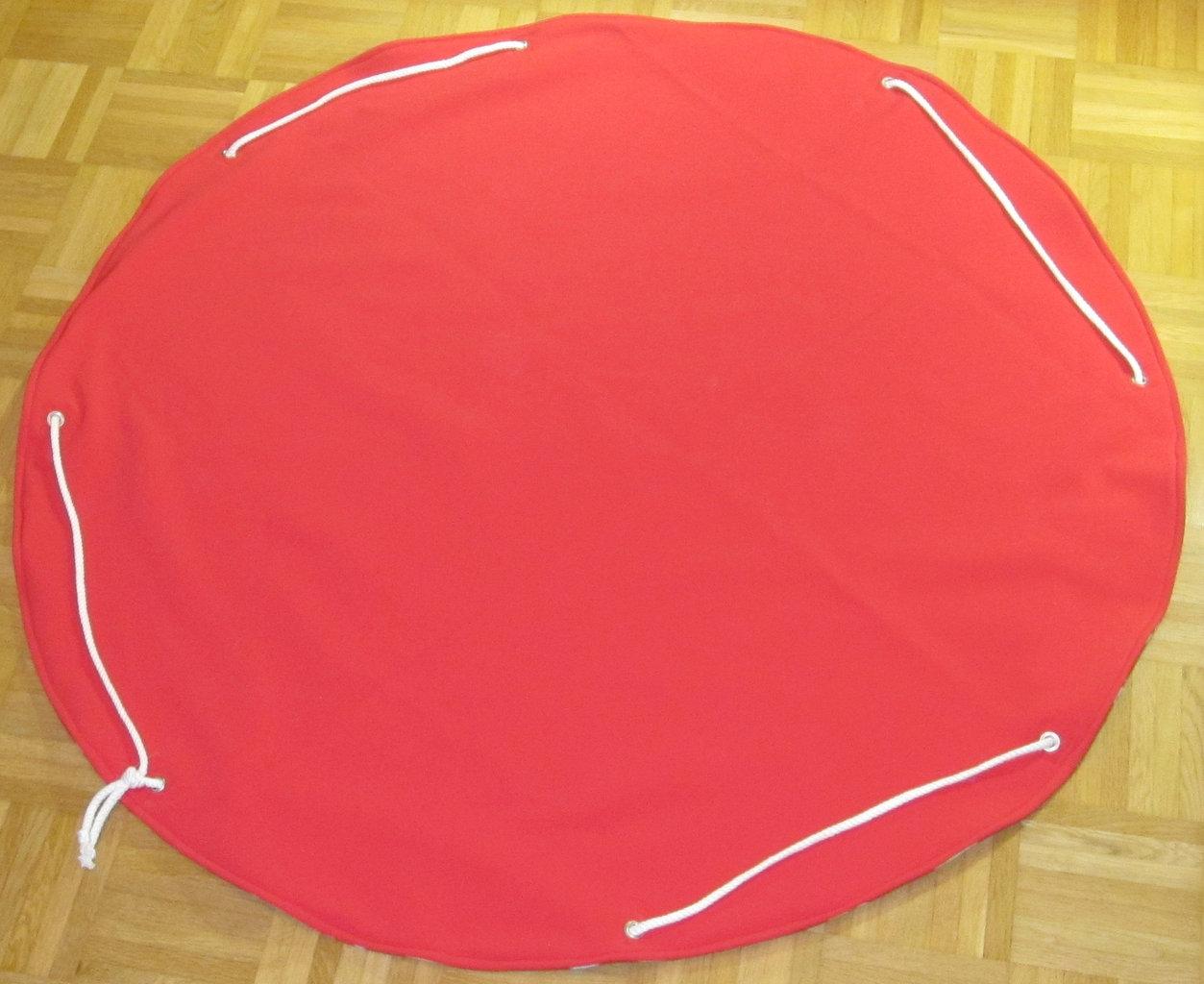 spieldecke spielzeugsack rot das geislein. Black Bedroom Furniture Sets. Home Design Ideas